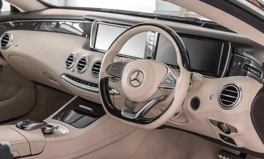 Mercedes Benz Cabin