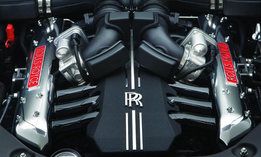 6.75L V12 petrol motor