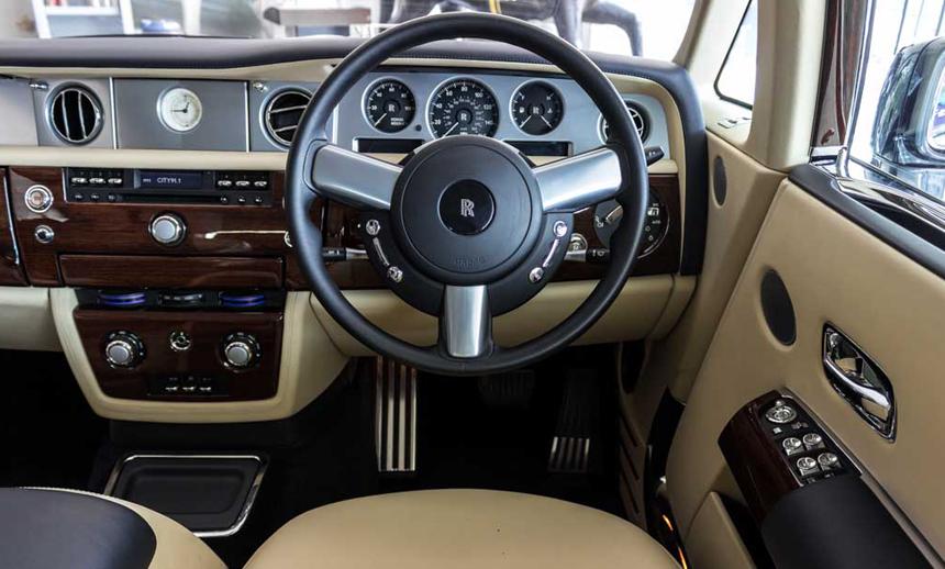 the Phantom's splendorous interiors BBT