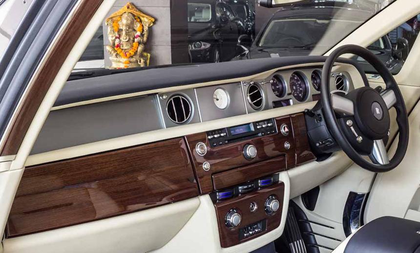 the Phantom car interiors BBT