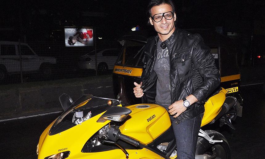 Vivek Oberoi's Ducati 1098