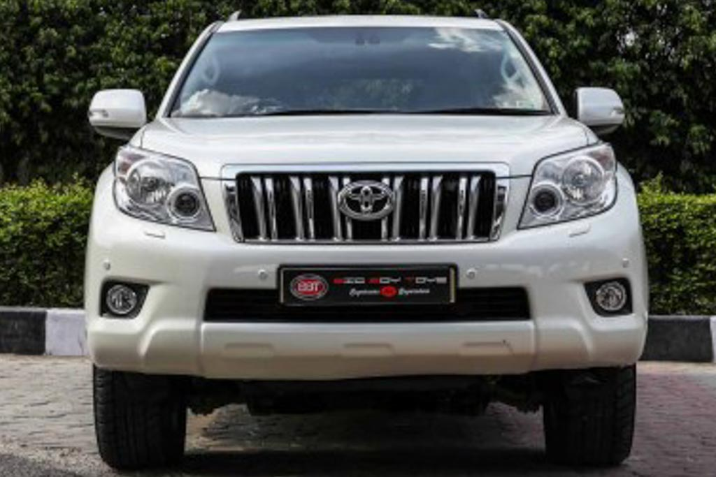 2012 Used Toyota LandCruiser Prado VXL