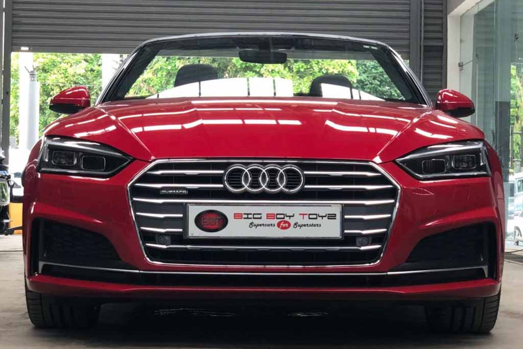 2018 Used Audi A5 Cabriolet