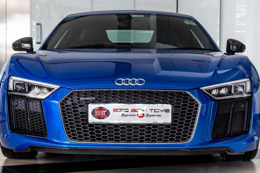 Audi R8 V10 'Plus'