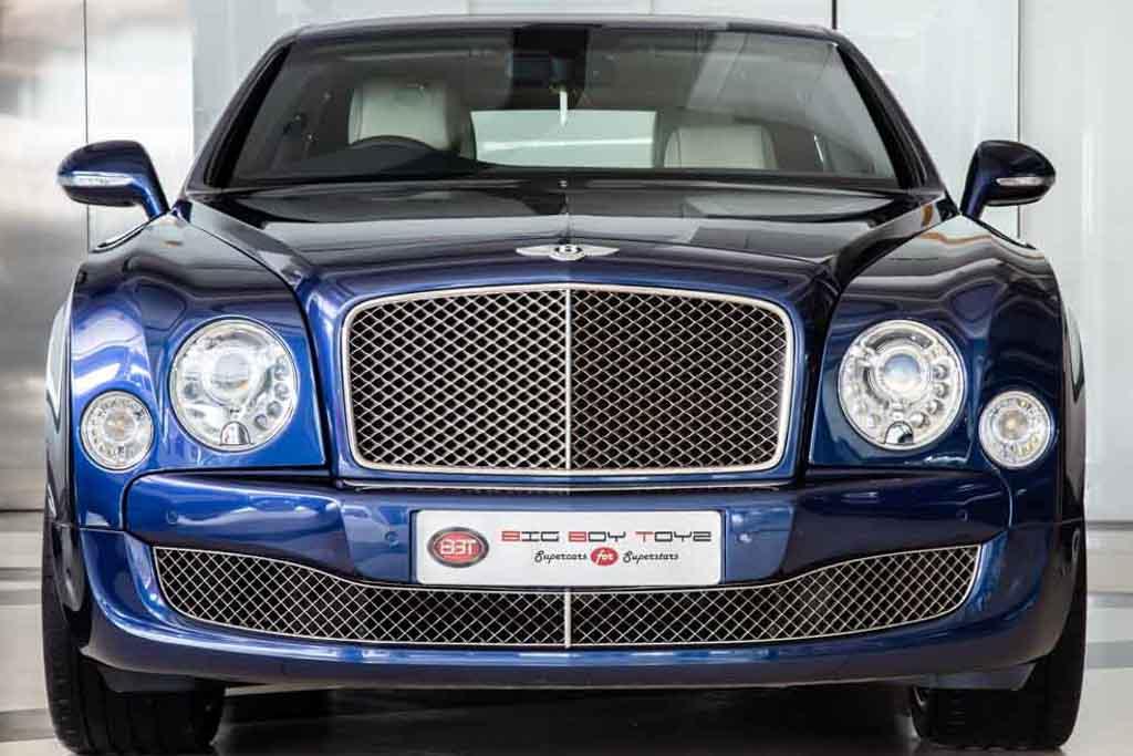 Bentley Mulsanne Mulliner MY2015
