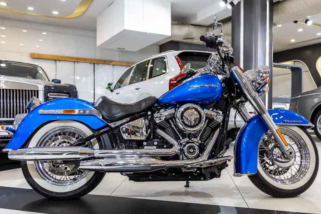 2018 Used Harley Davidson Softail Deluxe