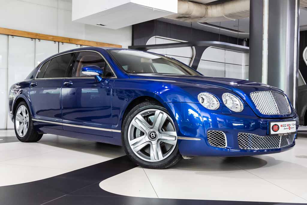 2008-Used-Bentley-Continental-Flying-Spur-Blue-2