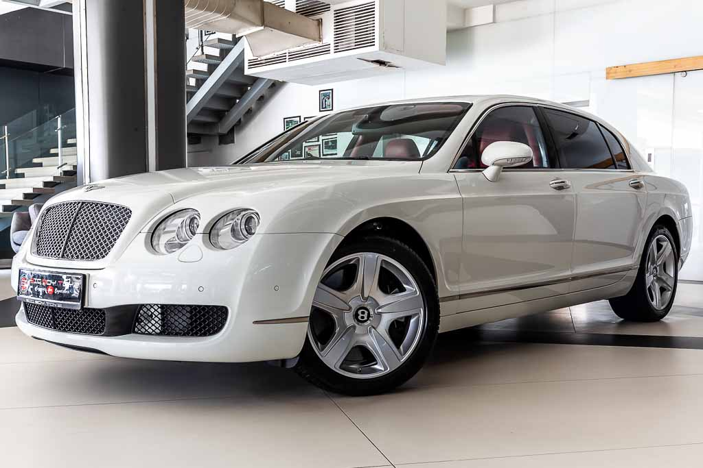 2008-Used-Bentley-Continental-Flying-Spur-White-53k-4