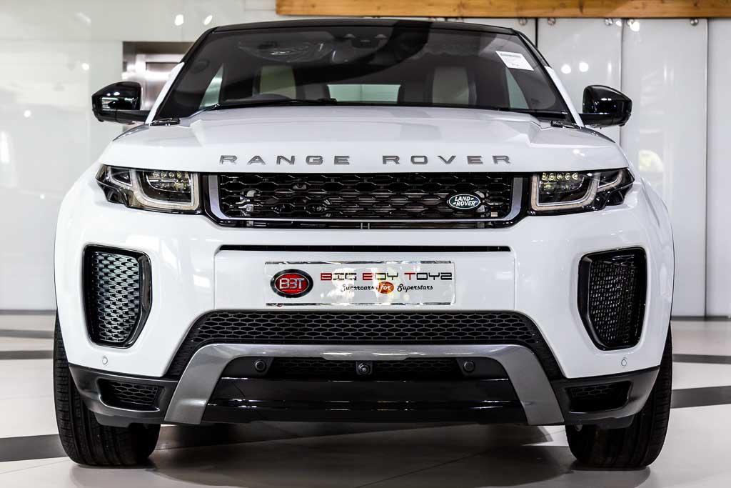 2018 Used Range Rover Evoque Convertible