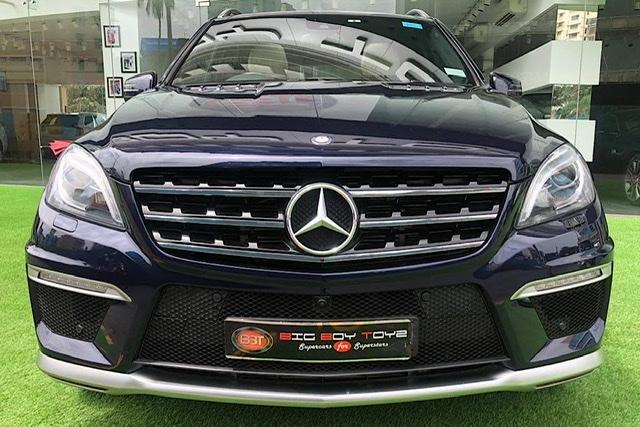 Mercedes Benz ML 63 AMG